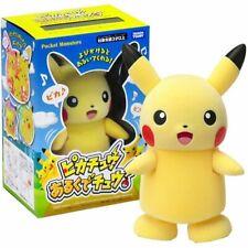 Takara Tomy Pokemon action and sound Figure - Pikachu Arukude Chu