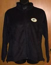 NFL Men's Green Bay Packers Black Fleece Full Zip Jacket - Size L - NEW!!!