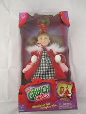 Dr Seuss' How The Grinch Stole Christmas: Whobilation Hair Cindy Lou Who Doll