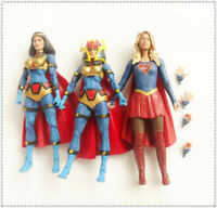 """LOT 3 DC Direct Collectibles TV SUPERGIRL DC Universe BIG BARDA Action Figure 6"""""""