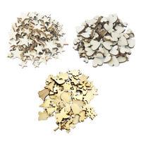 250 stücke Verschiedene Größen Formen Naturholz Stücke für