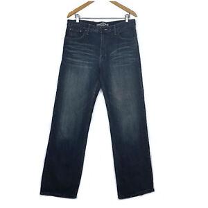 Camel Original Jeans Mens Jeans Size 34 Blue Distressed