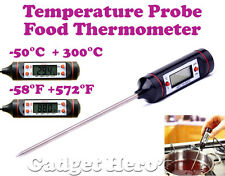Pen Type Digital Food Probe Meat Thermometer Sensor BBQ Kitchen Cooking Tool
