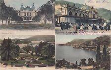 Monte Carlo lot 4 CPA a partir de 1904 café de parís casino Monaco 1702213