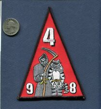 VF-101 GRIM REAPERS Crew Training Class 4 98 US NAVY F-14 TOMCAT Squadron Patch