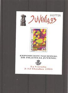 Sellos de España Año 1993 Prueba Oficial nueva** JUVENIA, 93