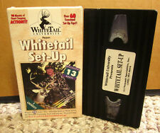 Whitetail Set-Up hunting Vhs over 60 treestand tips Wade Nolan 13 hunts video