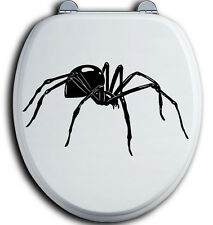 Spinne Spider WC Deckel Toilettendeckel Bad Klo Aufkleber Sticker Wandtattoo man
