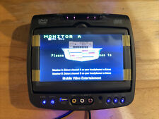 ~New Cadillac GM Invision DVD Headrest Monitor A Factory OEM 620007 Drivers Side