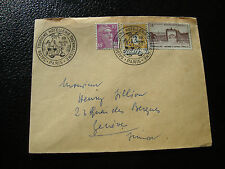 FRANCE - enveloppe 23/4/1953 (cy54) french