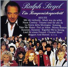 RALPH SIEGEL : EIN KOMPONISTENPORTRAIT - HEUTE / 2 CD-SET - TOP-ZUSTAND