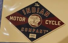 Genuine Indian Motorcycle Polaris IMC Leather Patch