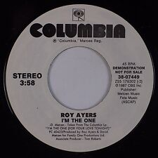 ROY AYERS: I'm the One USA COLUMBIA Jazz Funk 45 NM-