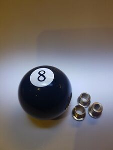 Eight 8 pool ball gear knob shift stick universal