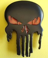 Boucle ceinture - The Punisher - Modèle noir mat