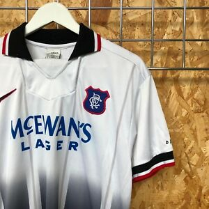 Rangers Nike Away Shirt 1996/1997 - S SMALL - Top Kit Jersey Vintage  QB293