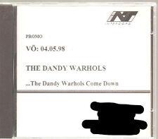 "The Dandy Warhol""... The Dandy Warhol come down ""acétates PROMO CD Germany"