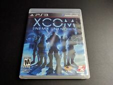 XCom Enemy Unknown X-Com Sony Playstation 3 PS3 LN perfect condition COMPLETE!