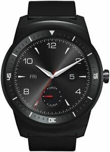 LG G Watch R LG-W110 Smartwatch, Black *Fast and Free Delivery*
