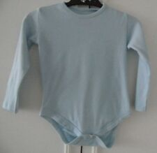 18-23 m LIGHT BLUE BABYGROWS BODY PLAY/SLEEP SUIT LONG SLEEVE