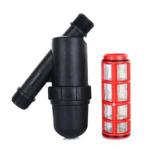 3/4'' Wasserfilter Siebfilter Wasser Filter F��r Gartenschlauch 5 M³/H 120 Mesh