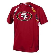 San Francisco 49ers NFL Men's Red Tiger Graphic Short Sleeve T-Shirt XL - NWT