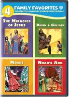 4 Family Favorites: The Greatest Adventure Stories From the Bible [New DVD]
