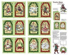 12 Days Of Christmas Soft Book Cotton Print Fabric - Springs International