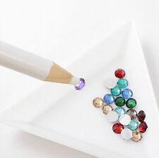 4Pcs Rhinestones Picker Pencil Nail Art Gem Jewel Wax Crystal Pen Picking Tool