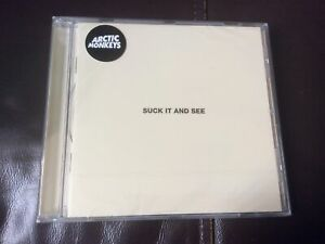 Arctic Monkeys - Suck It And See (2011) CD ALBUM NEW AND SEALED G1