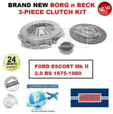 Brand New BORG n BECK 3-PIECE CLUTCH KIT for FORD ESCORT Mk II 2.0 RS 1975-1980