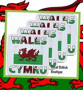 Wonderful Wales Cymru Drinks Coasters - Set of four