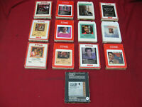 Vintage Lot of 13 8 Track Tapes from the 1970's