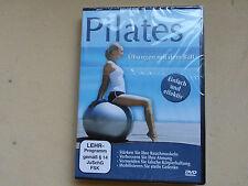Pilates Übungen mit dem Ball Gymnasticball Fitness Training DVD Neu OVP
