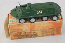Vintage Collectible Russian Military Toy Armored Transporter BTR MINT In Box