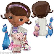 """46"""" Disney Doc McStuffins Stuffy Lambie Children's Party Foil Airwalker Balloon"""