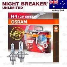 OSRAM NIGHT BREAKER UNLIMITED Headlight Bulbs H4 +110% 12V 60/55W for HIGH BEAM