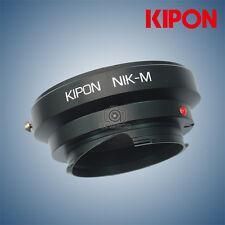 New Kipon Adapter for Nikon F Mount CF Lens to Leica M camera