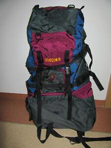 Großer Trekking Rucksack HAYLER 60 Liter viele Taschen Fächer & Gurte Backpacker