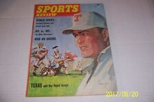 1965 Sports Review TEXAS Longhorns vs DARREL ROYAL The AFL vs NFL Who's Better?