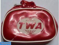 TWA AIRLINE avion porte monnaie vintage sac accessoire poupée doll 8.5x6x2.2 cm