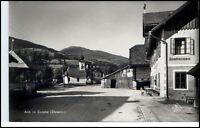 AICH im Ennstal Steiermark Österreich um 1935/45 Strasse Kirche Pension Partie