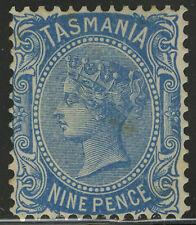 Tasmania   1905-08   Scott # 109    Mint Hinged