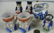 Vintage Creamer Toby Mug by Wood & Sons England 3 1/4� Tall