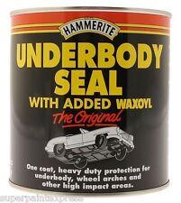 HAMMERITE WAXOYL UNDERBODY SEAL 2.5L LITRE  UNDERSEAL