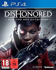 PS4 GAME DISHONORED 2: The Death of the Outsiders NEW