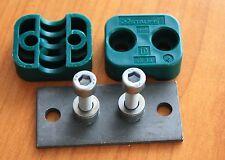 STAUFF Schellen DIN 3015, Standard-Baureihe, Polypropylen, Schellenkörper, grün
