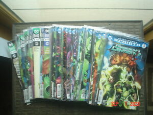 GREEN LANTERNS #1-57 - 2016 - REBIRTH - COMPLETE RUN - NEAR MINT