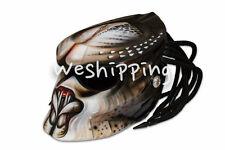 Predator Helmet Carbon Fiber Bike Motorcycle Moto Helmets alien Mask all size 07