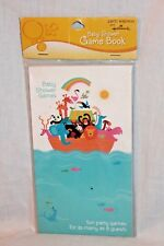 NEW WHIMSICAL ARK BABY SHOWER GAME BOOK PARTY SUPPLIES